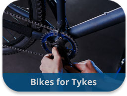 Bikes for Tykes Team Building