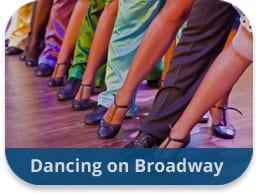 team building activities artistic endeavors dancing on broadway