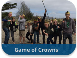 team building activities team adventures new game of crowns
