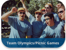 Team Olympics/Picnic Games Events and Activities