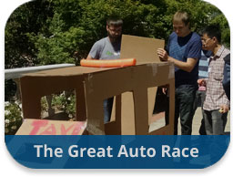 The Great Auto Race Team Building